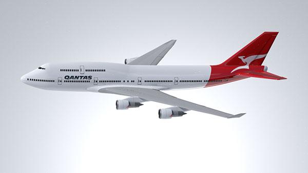 Air plane 3d model